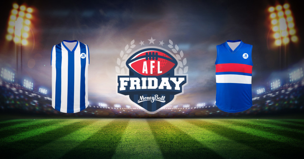 Friday Night AFL DFS preview: Roos v Dogs